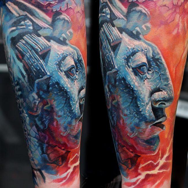 mayan tattoo22