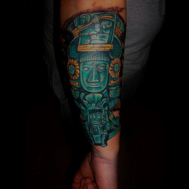 mayan tattoo33
