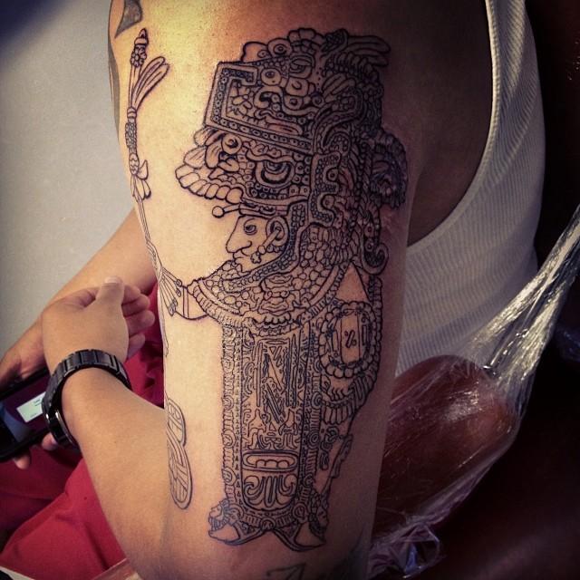 mayan tattoo42