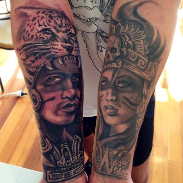 mayan tattoo45