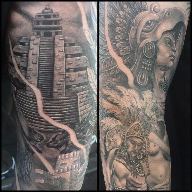 mayan tattoo48