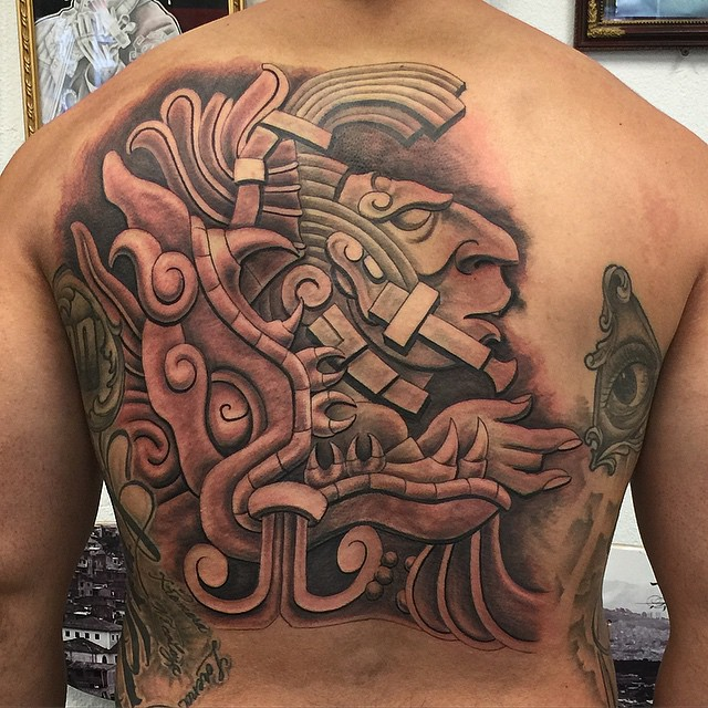 mayan tattoo49