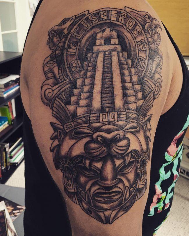 mayan tattoo6