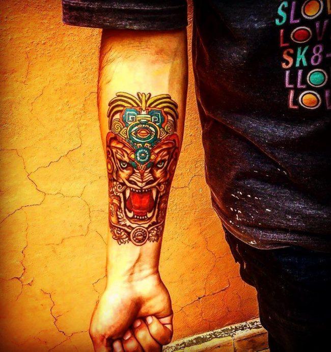 mayan tattoo7