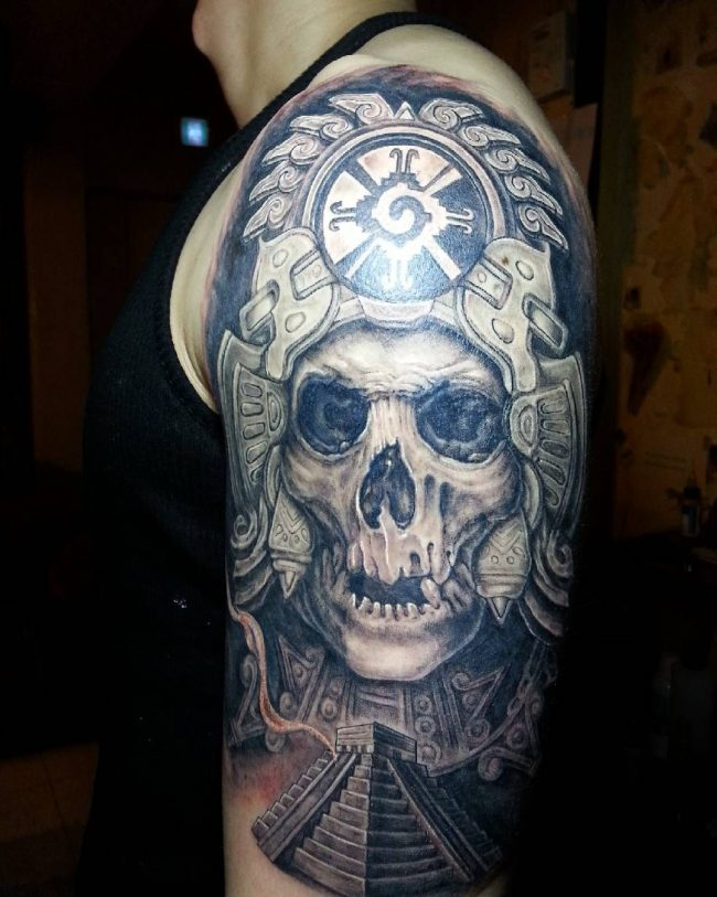 mayan tattoo9