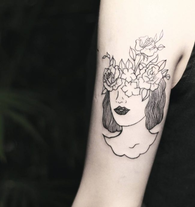105 Inspiring Minimalist Tattoo Designs