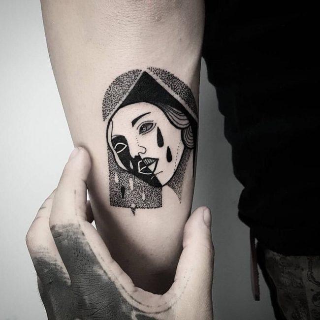 minimalist tattoo34