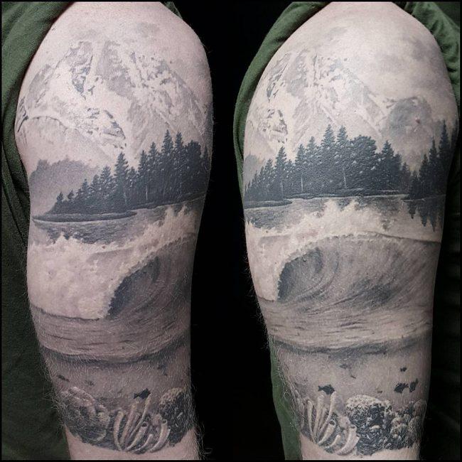 ocean tattoo28