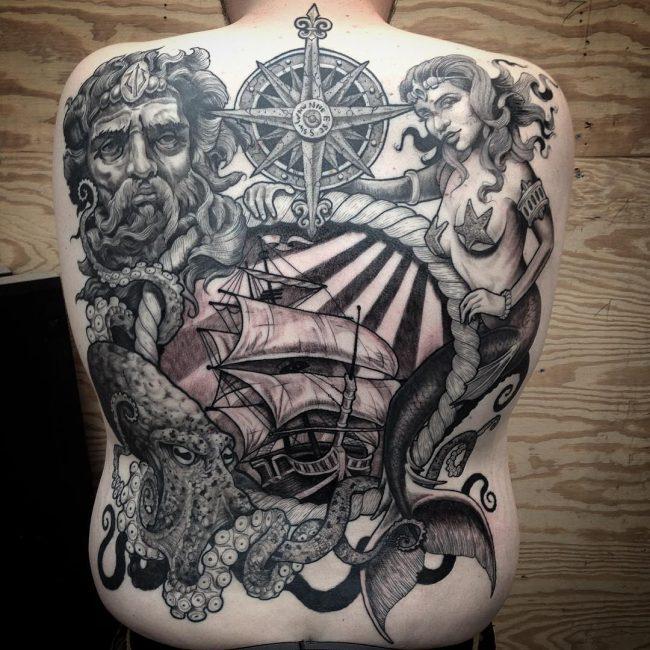 ocean tattoo34