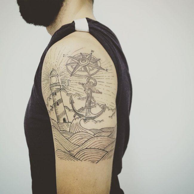 ocean tattoo42