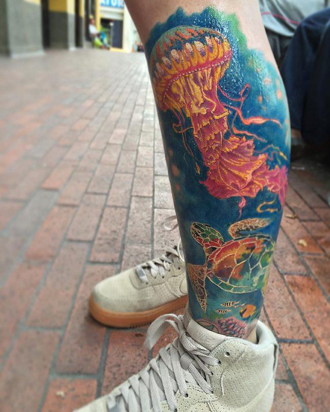 ocean tattoo44