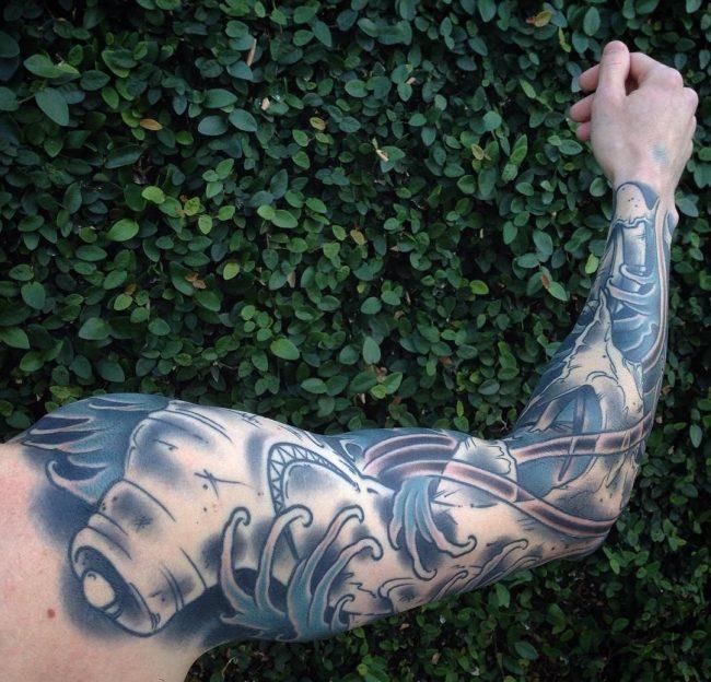 ocean tattoo8