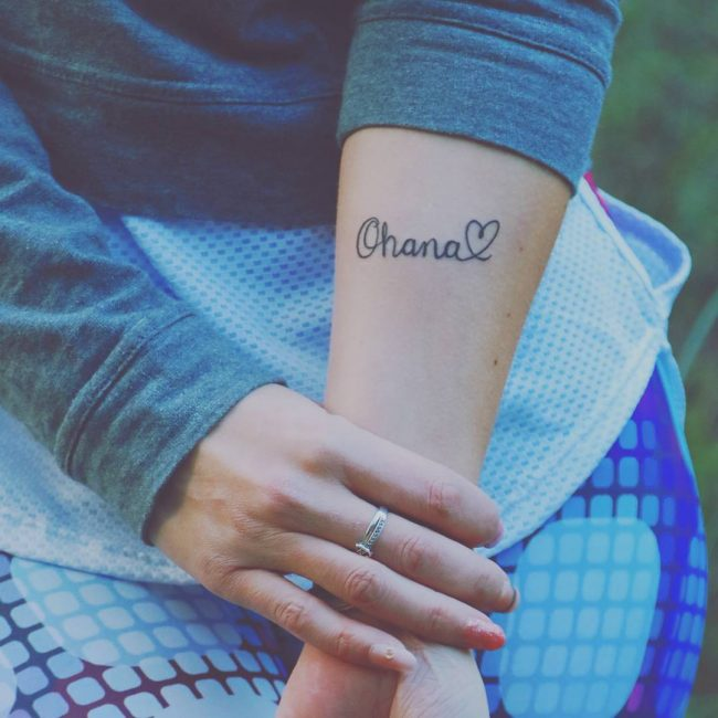 55 delightful ohana tattoo designs � no one gets left behind