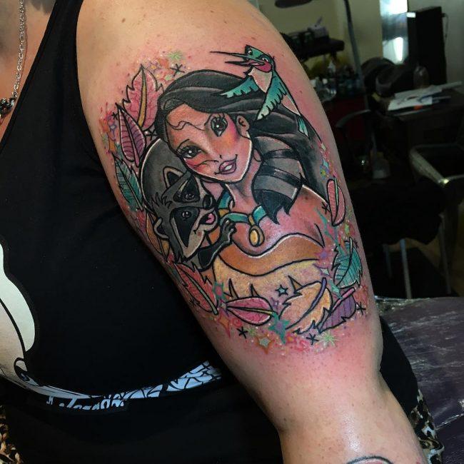 pocahontas tattoo16