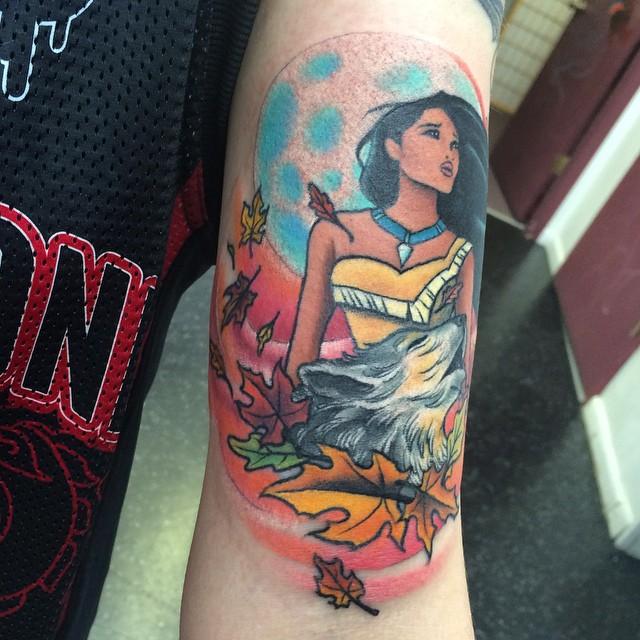 pocahontas tattoo25