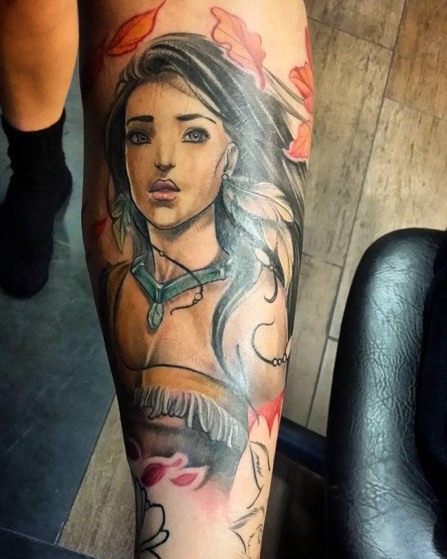 pocahontas tattoo28