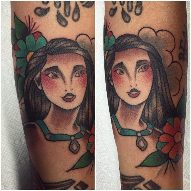 pocahontas tattoo30