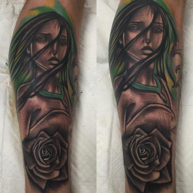 pocahontas tattoo4