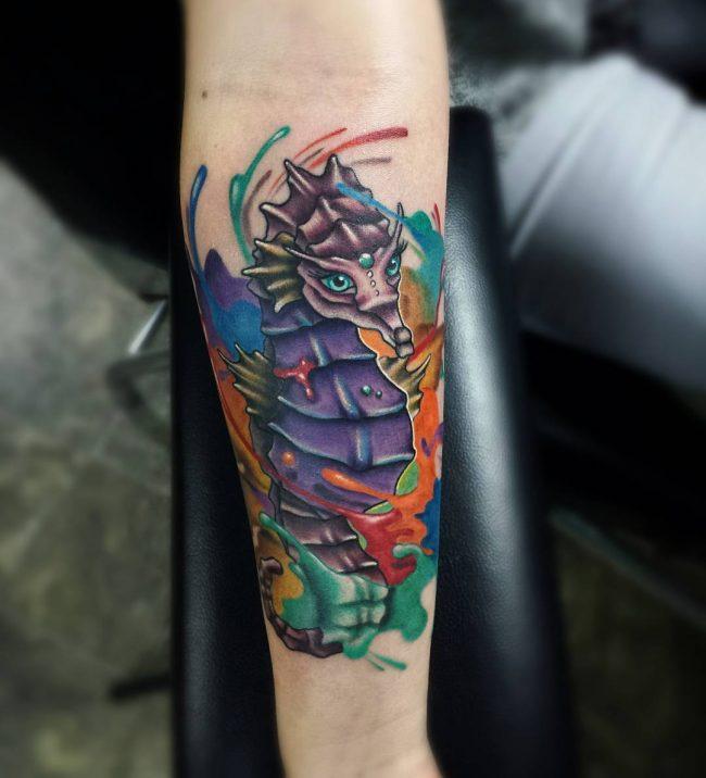 seahorse tattoo23