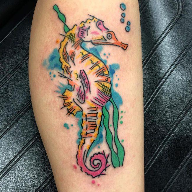 seahorse tattoo30