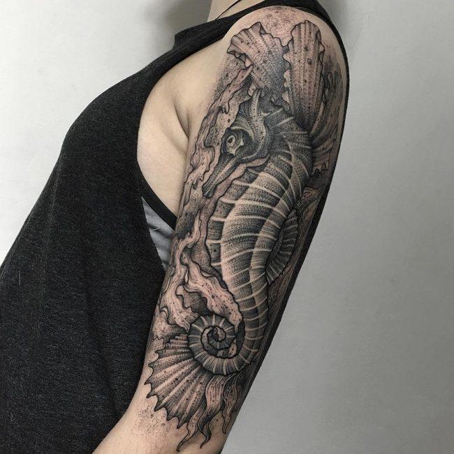 seahorse tattoo32
