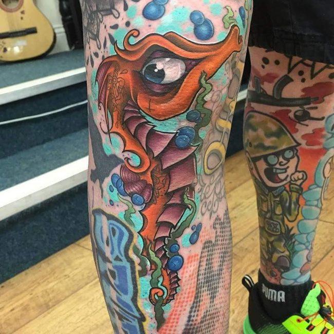 seahorse tattoo42