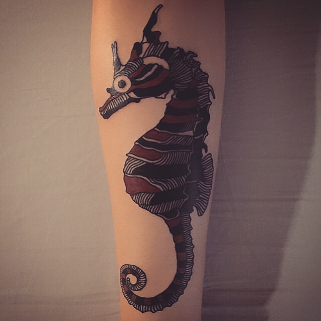 90 Cuddly Seahorse Tattoo Designs Tiny Creature With Deep Symbolism
