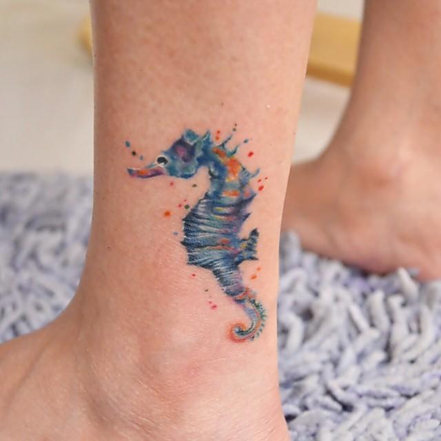seahorse tattoo49