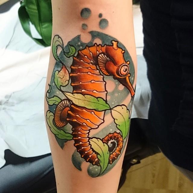 seahorse tattoo52