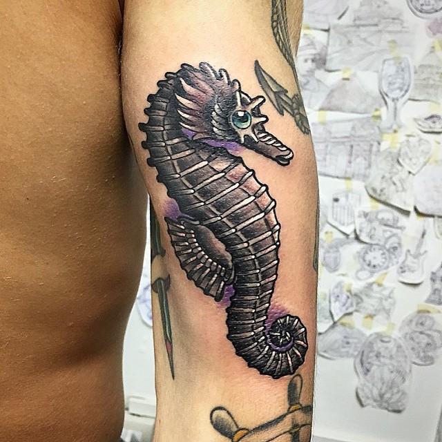 seahorse tattoo53