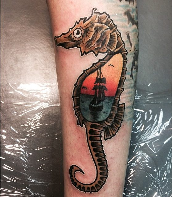 seahorse tattoo54