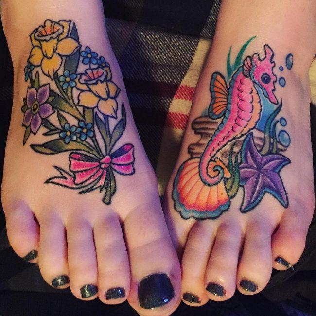 seahorse tattoo7