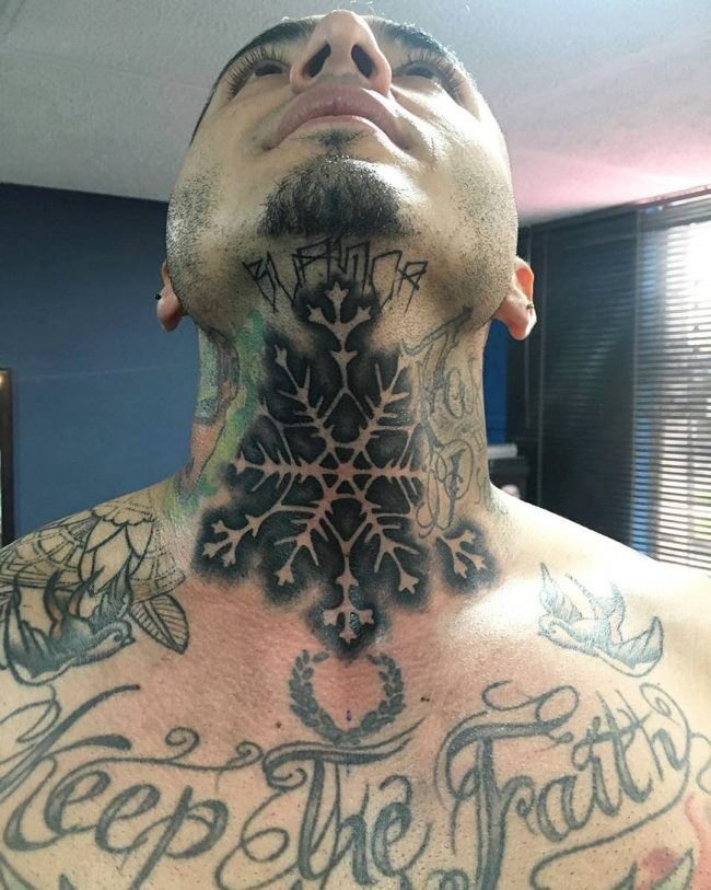 snowflake tattoo22