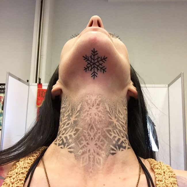 snowflake tattoo25