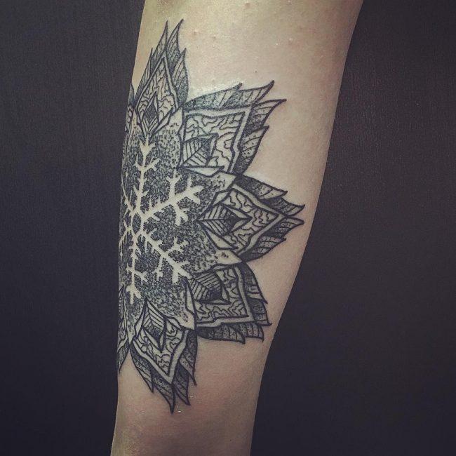 snowflake tattoo27