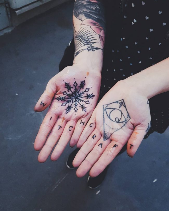 snowflake tattoo40