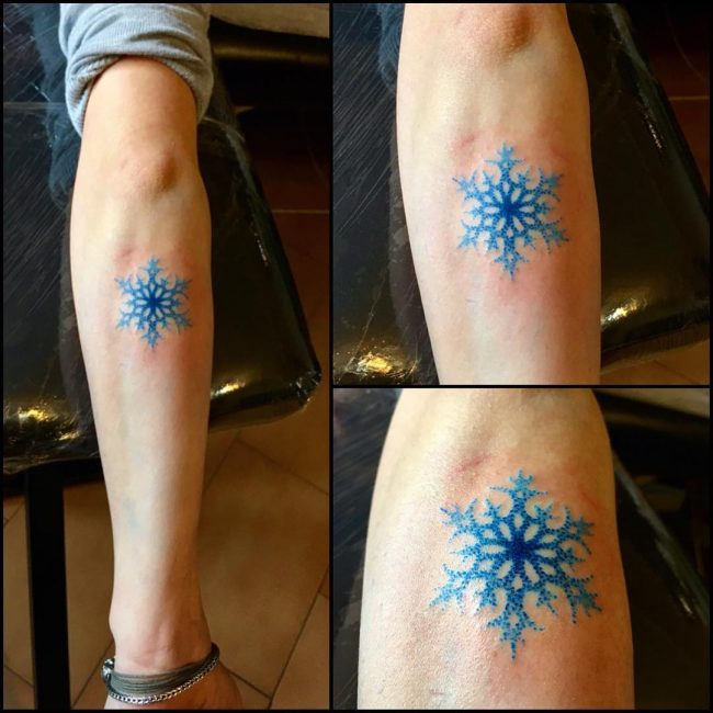 snowflake tattoo46