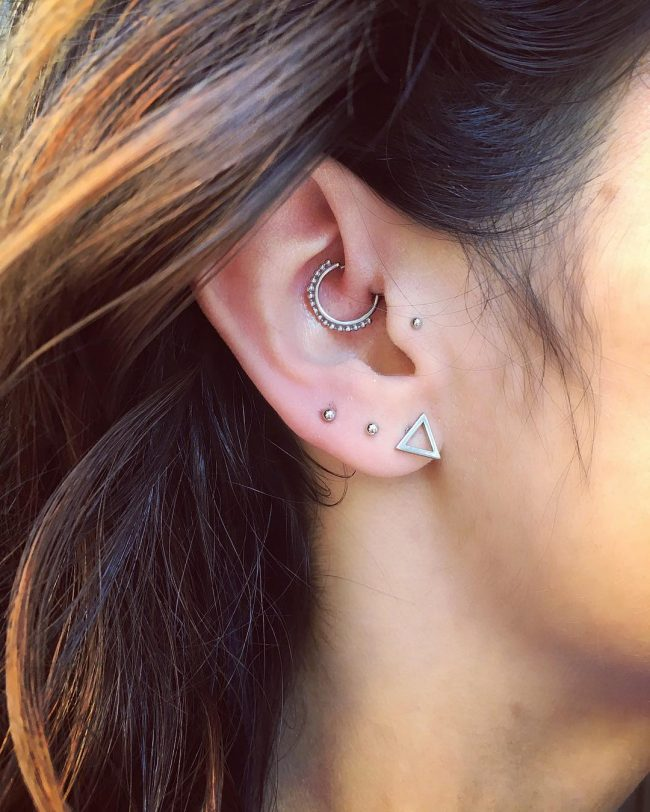 60 Trendy Types Of Ear Piercings And Combinations Choose Your Look