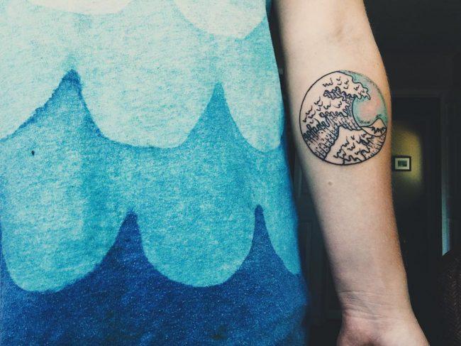 wave tattoo1
