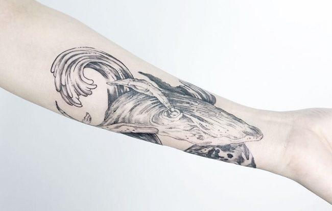 wave tattoo17