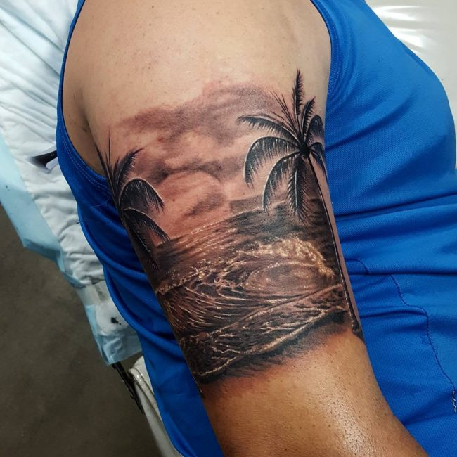 wave tattoo20