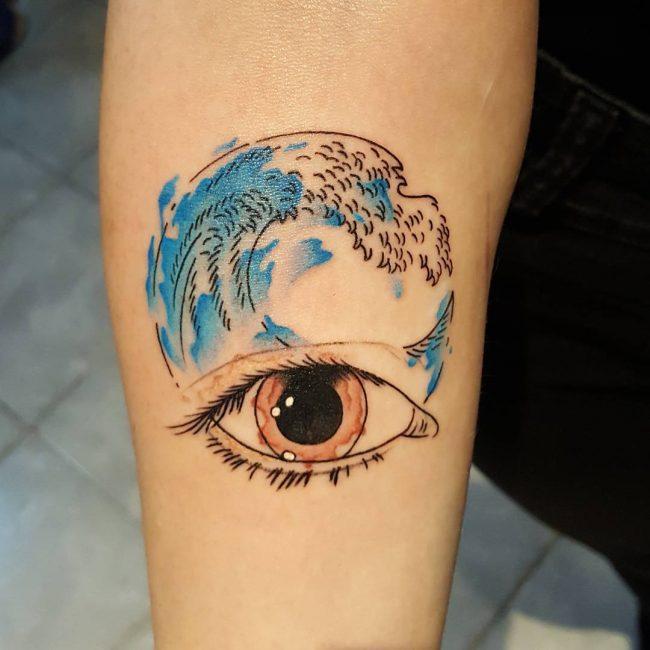 wave tattoo32