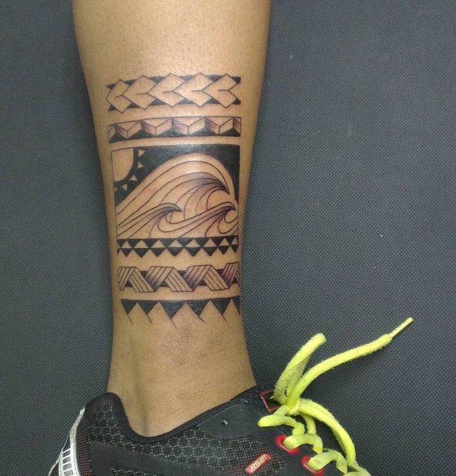 wave tattoo37