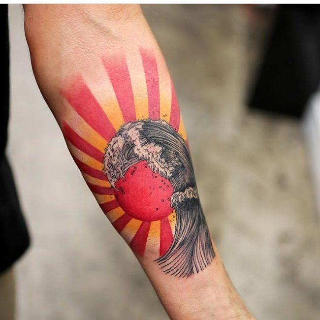 wave tattoo39