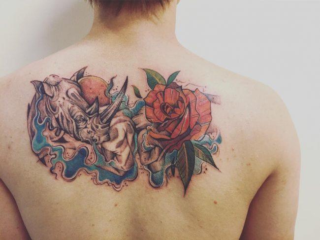wave tattoo51