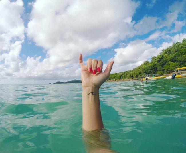 wave tattoo52
