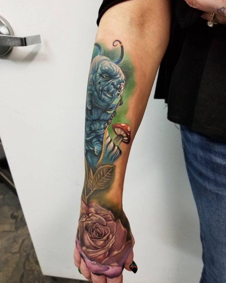 Alice in Wonderland Tattoo 101
