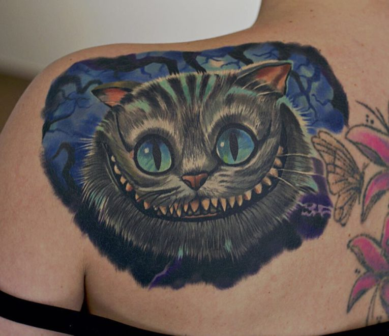 Alice in Wonderland Tattoo 102