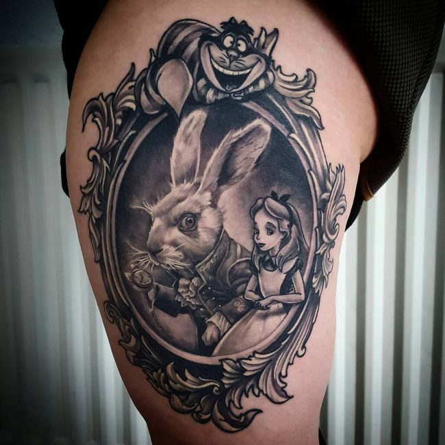 Alice in Wonderland Tattoo 93