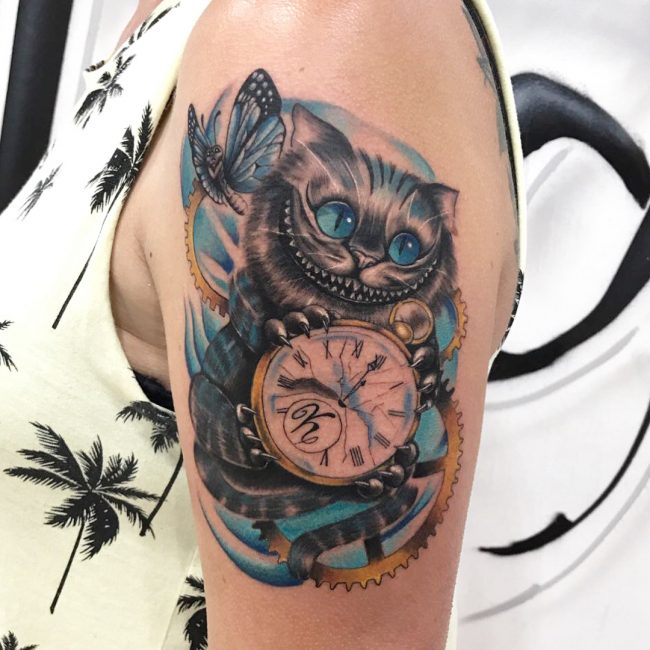 Alice in Wonderland Tattoo 94